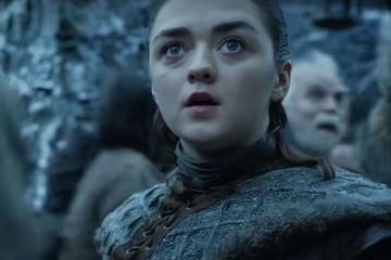 Arya Sees Her First Dragon In New HBO Promo