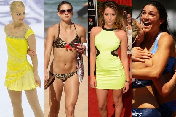 The Hottest Female Athletes