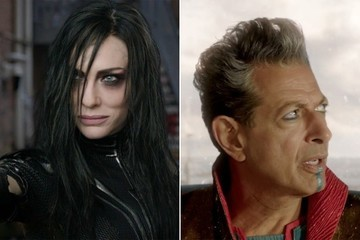 We So Can't Handle Cate Blanchett and Jeff Goldblum's Looks in the New 'Thor: Ragnarok' Trailer