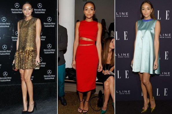 Budding Style Star Ashley Madekwe Has Been Making the Rounds at NYFW