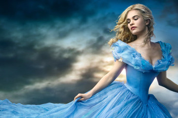 Lily James Has Some Thoughts About the 'Cinderella' Waistline Controversy