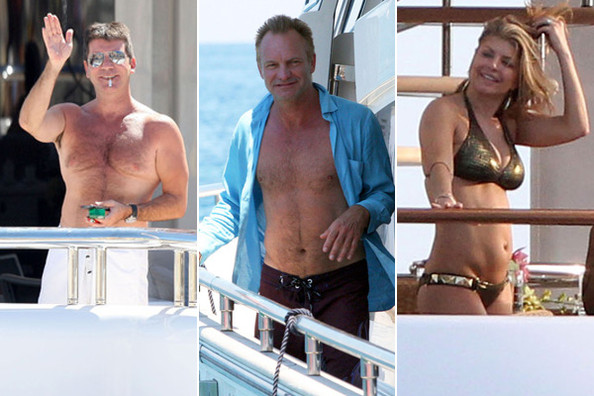 Rich People on Yachts