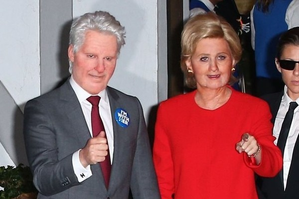 Katy Perry Dresses Up as Hillary Clinton for Halloween Is Joined By u0027Mysteryu0027  sc 1 st  Zimbio & Katy Perry Dresses Up as Hillary Clinton for Halloween Is Joined By ...