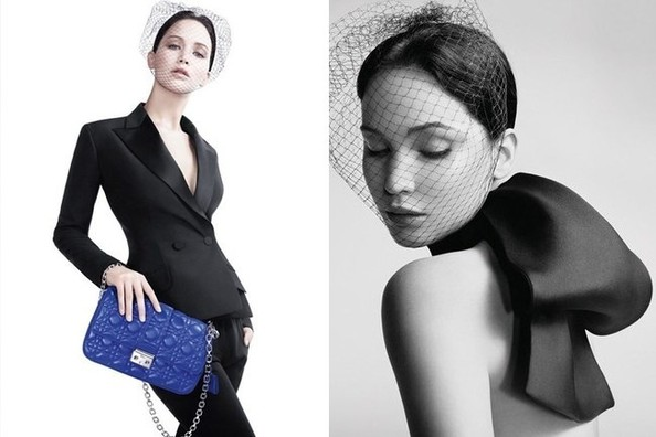 Jennifer Lawrence Goes Au Natural For Dior