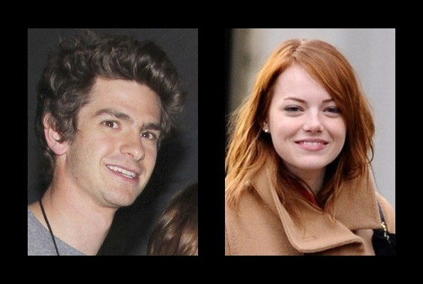 Andrew Garfield is dating Emma Stone