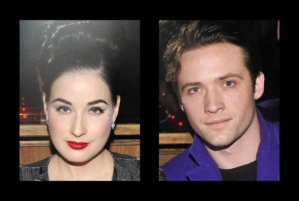 Dita Von Teese is dating Louis-Marie de Castelbajac