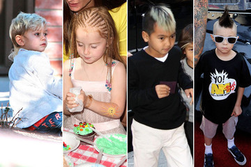 Celeb Kids With Wacky Haircuts