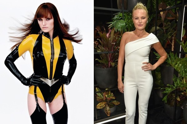 Female Superheroes in and Out of Costume · Malin Akerman as Silk Spectre  sc 1 st  Zimbio & Malin Akerman as Silk Spectre - Female Superheroes in and Out of ...