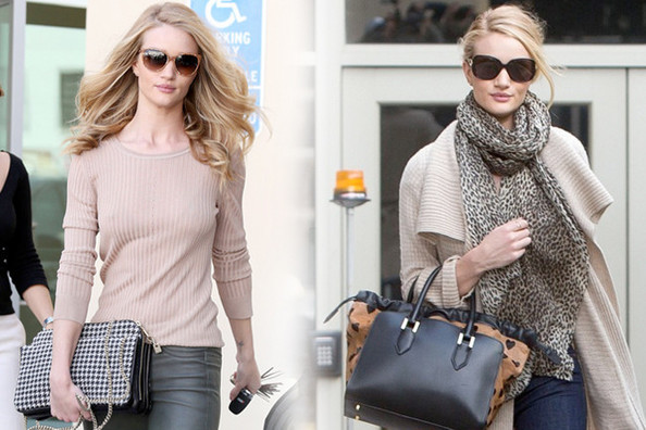 Obsessed: Rosie Huntington-Whiteley's Luxe Neutrals