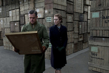 Zimbio Review - 'The Monuments Men' Needs Restoration