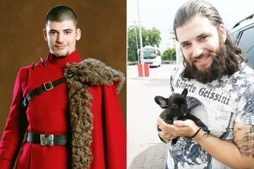 Viktor Krum Is Now a Heavily Tattooed Puppy Lover