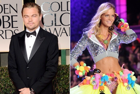Actor Leonardo DiCaprio and Erin Heatherton And Leonardo Dicaprio Split
