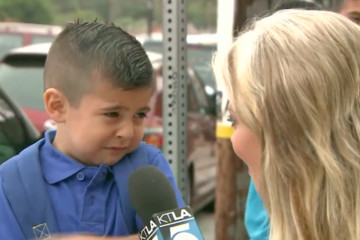 This Crying Kid Accurately Describes Us All on the First Day of School