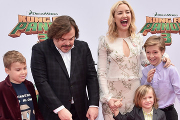 Kate Hudson and Jack Black's Little Boys Won the Spotlight at the 'Kung Fu Panda 3' Premiere