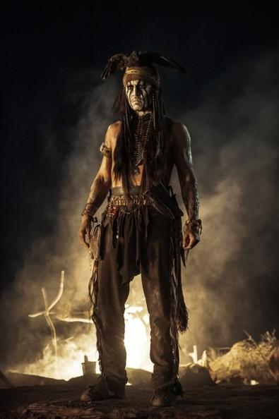 New Photos from 'The Lone Ranger'