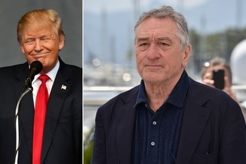 Robert De Niro Would Like to Punch Donald Trump in the Face