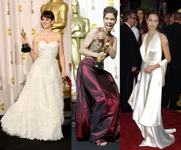 anne hathaway oscar dress 2010. The Best Oscar Gowns of the