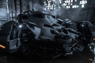 Here's a Much Better Shot of the New Batmobile
