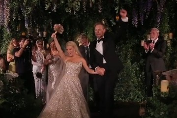 Watch Stunning Bride Jessica Simpson Walk Down the Aisle