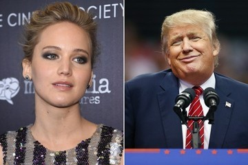 Jennifer Lawrence Thinks a Donald Trump Presidency Would Be 'the End of the World'