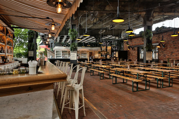 To Drink: The Biergarten At The Standard, High Line