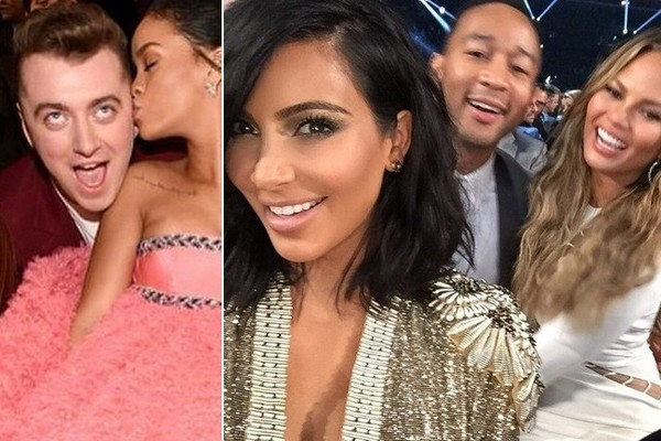 The Best Social Media Pics from the 2015 Grammys