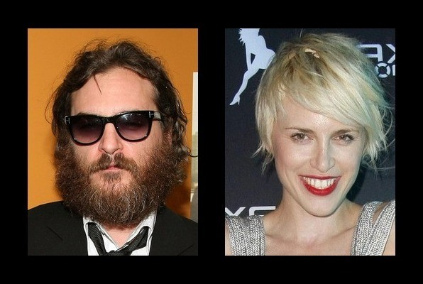 Joaquin Phoenix is rumored to be with Aria Crescendo
