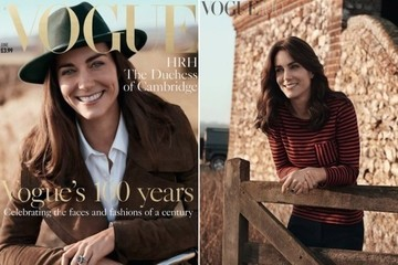 Kate Middleton Purposely Dressed Down for Her 'Vogue' Cover