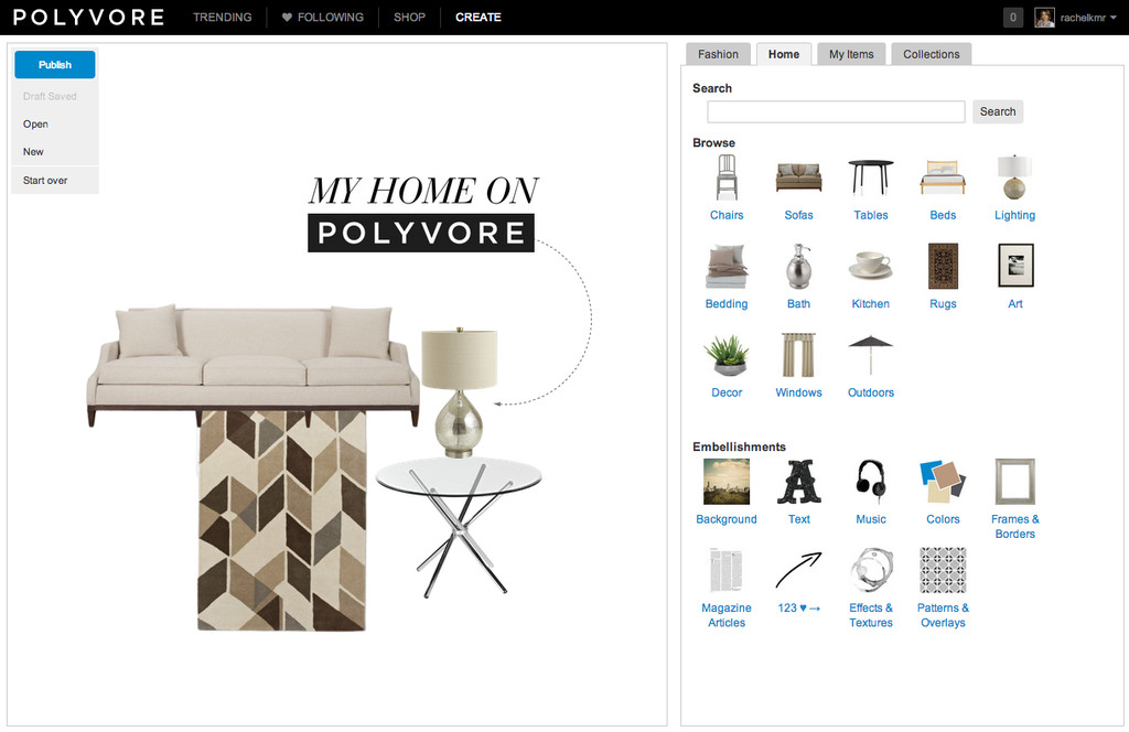 Polyvore launches home vertical | Lonny.com