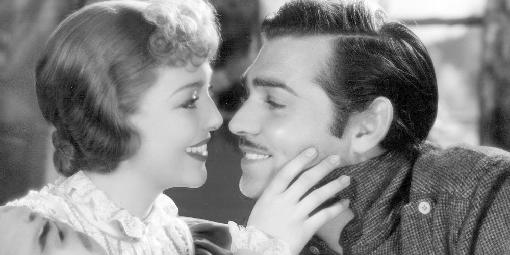 Loretta Young and Clark Gable in 'The Call of the Wild'
