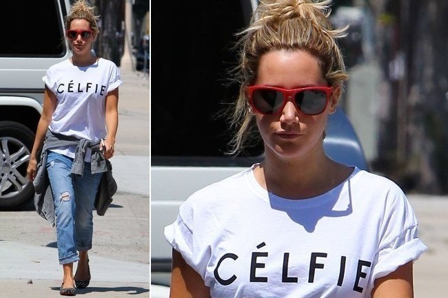 How to Master Ashley Tisdale's Effortless Afternoon Look