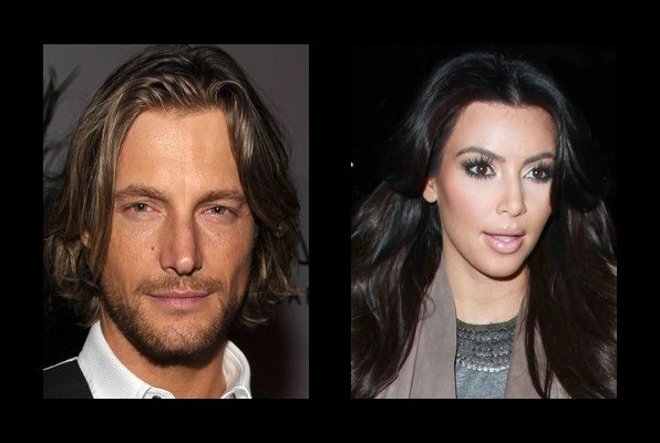 Gabriel Aubry was rumored to be with Kim Kardashian