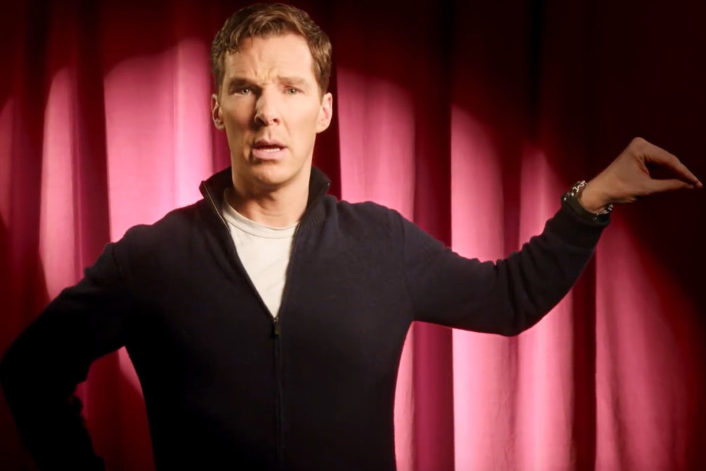 Watch Benedict Cumberbatch's Hilarious Dramatic Reading Of 'I'm a Little Teapot'
