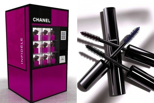 You Can Now Buy Chanel Out of a Vending Machine