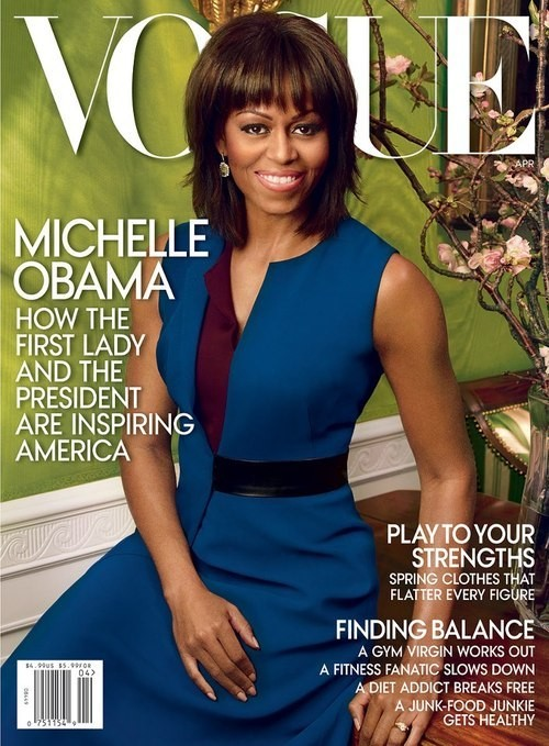 UNVEILED: Michelle Obama's Second 'Vogue' Cover