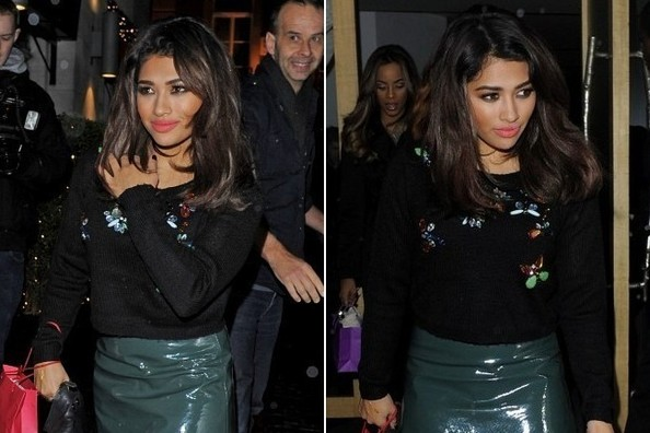 Vanessa White is Wearing Your New Favorite Lip Color