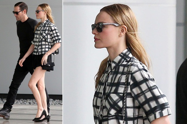 Kate Bosworth's Ladylike Checkers