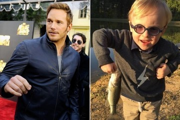 Chris Pratt Teaching His Son to Fish Just Made Our Hearts Melt