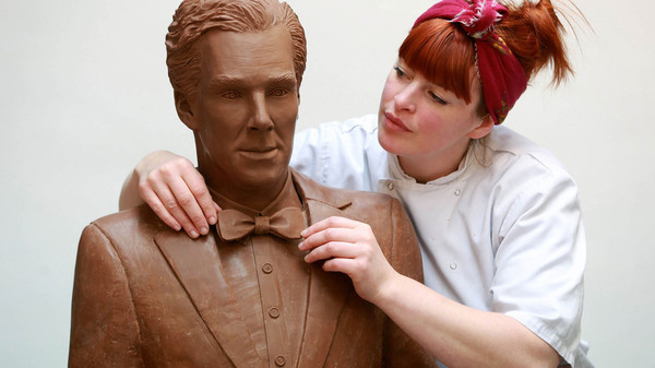 Check Out the Benedict Cumberbatch Statue That's Good Enough to Eat