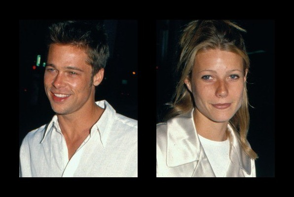 Brad Pitt dated Gwynet...