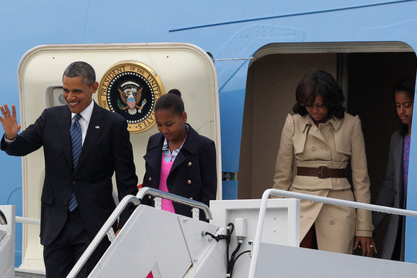 It Looks Like the Obama Family Went Shopping at J. Crew This Week