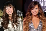 Then and Now - Demi Lovato