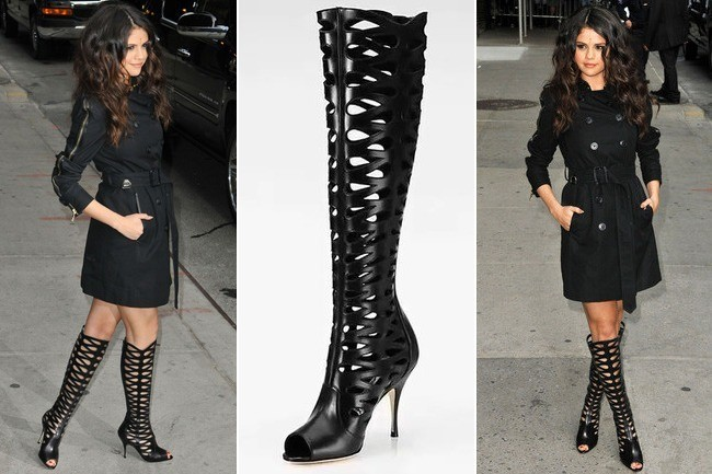Do You Like Selena Gomez's $1,750 Cutout Boots?