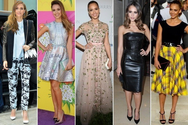 What Is Jessica Alba's Best Fashion Personality?