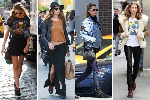 Model Behati Prinsloo's Off-Duty Looks
