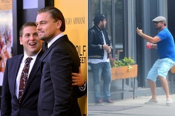 Leonardo DiCaprio Pranks & Scares the Crap Out of Jonah Hill