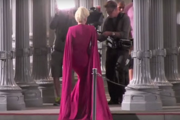 Watch the Gorgeous Lady Gaga on the Set of 'American Horror Story: Hotel' [Video]