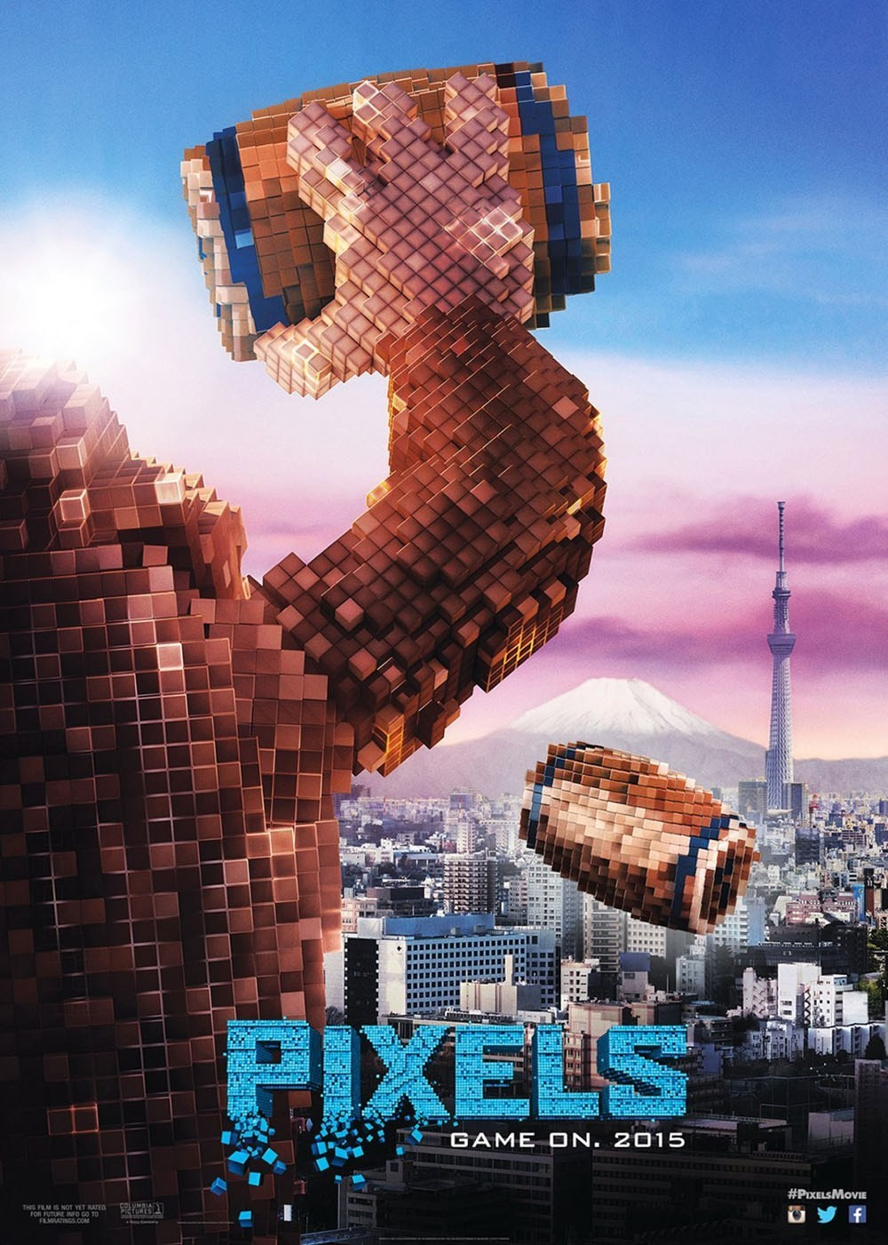 Retro Video Games Destroy Cities in the New 'Pixels