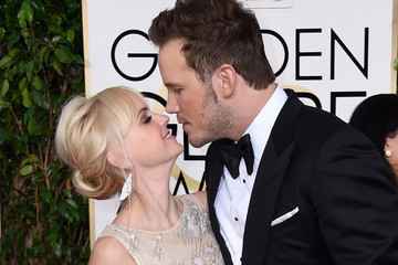 Proof: Anna Faris and Chris Pratt Were the Cutest Couple at the Golden Globes