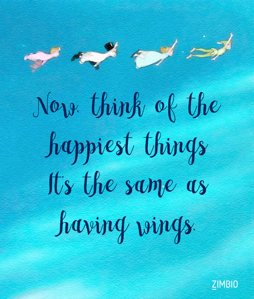 you can fly these inspirational disney quotes will